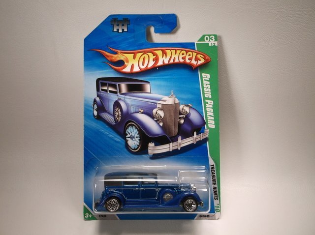 Hot Wheels Treasure Hunt Classic Packard MOC