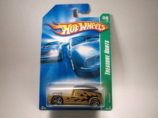 Hot Wheels Treasure Hunt Qombee MOC