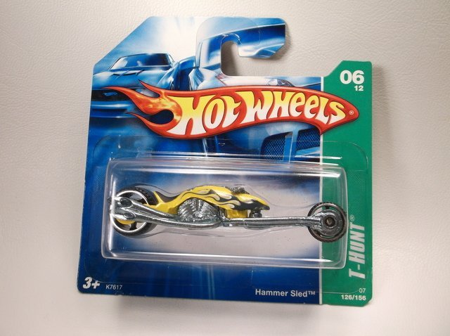 Hot Wheels Treasure Hunt Hammer Sled MOC