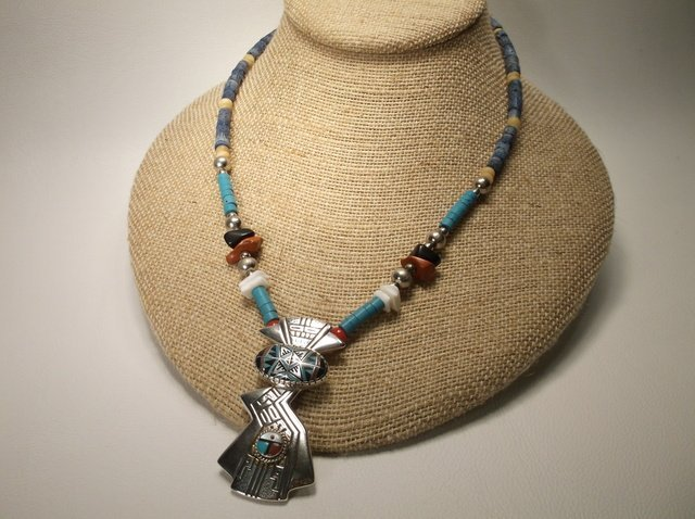 Stunning Sterling Silver Carolyn Pollack RMT Necklace