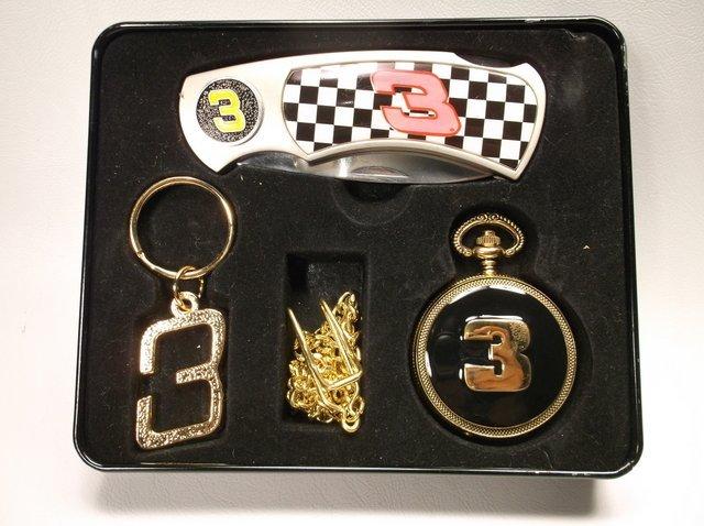 Nice Dale Earnhardt Knife Pocket Watch Set