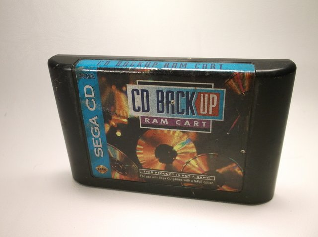Sega CD Backup Ram Cart Cartridge Rare
