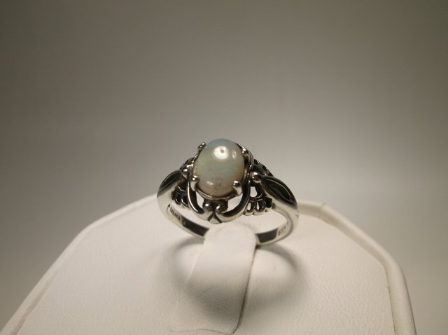 Nice Sterling Silver Kabana Opal Ring Size 8 Designer
