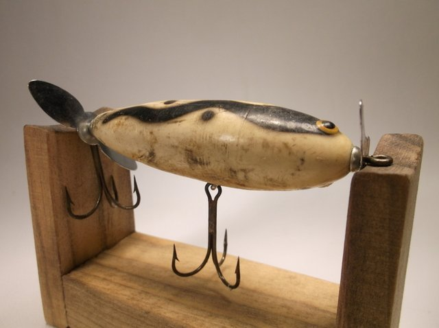 Old Wood Fishing Lure