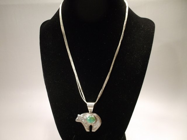 Gorgeous Sterling Silver Navajo Begay Necklace