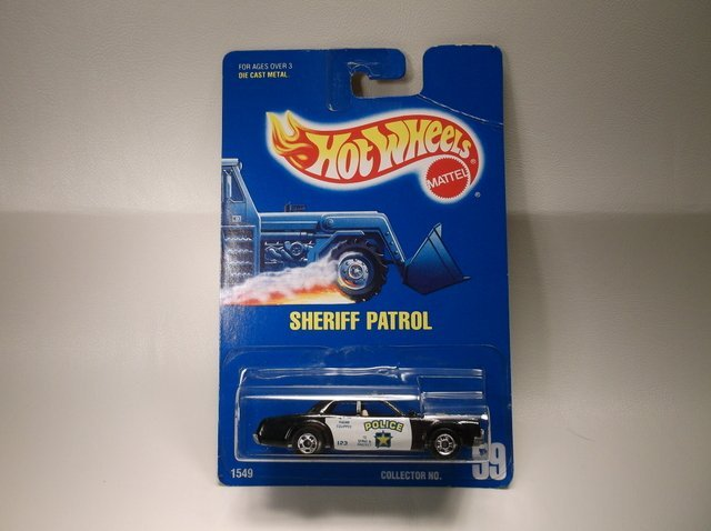 Vintage 1991 Hot Wheels Sheriff Patrol 1549 MOC