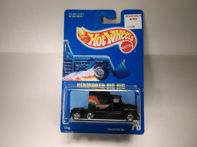 Vintage 1991 Hot Wheels Kenworth 1790 MOC