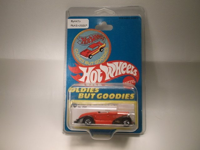 1997 Hot Wheels Auburn 852 2505 MOC