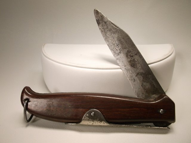 Large Vintage Okapi Germany Pocket Knife