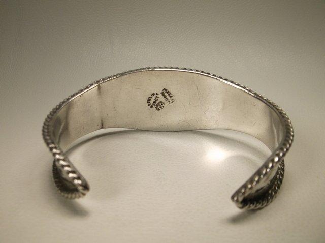 Gorg Vintage Sterling Silver Taxco Cuff Bracelet Vogt - 3