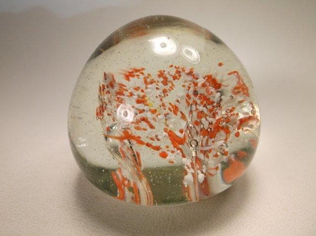 Unique Art Glass Paperweight