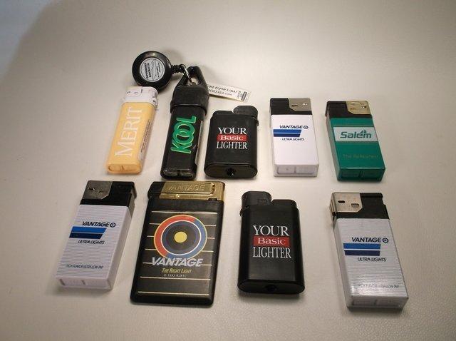 Nice Lot of Vintage Advertising Lighters