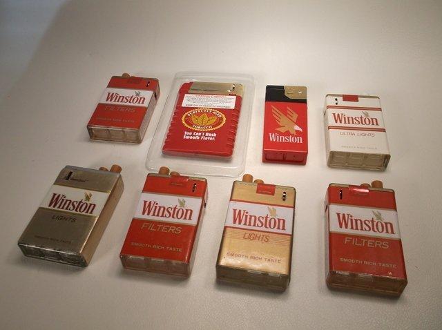 Nice Lot of Vintage Winston Lighters