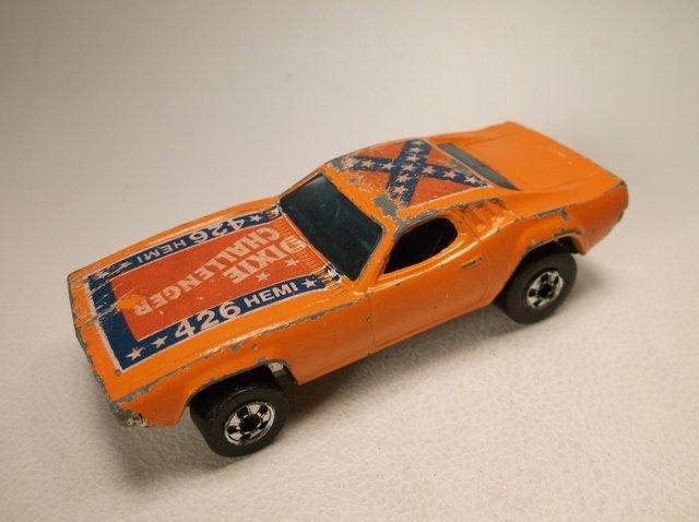 1970 Hot Wheels Dixie Challenger Car