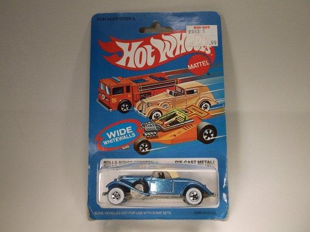 1983 Hot Wheels 3290 Rolls Royce MOC