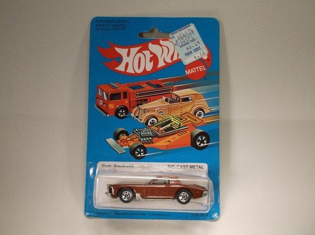 1982 Hot Wheels 1126 Stutz Blackhawk MOC
