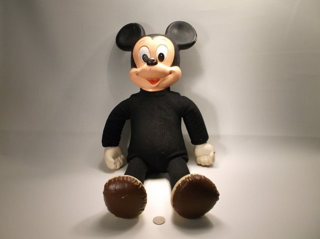 Rare 1960s Disney Marching Mickey Mouse