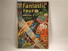 1971 Marvel Fantastic Four Comic Book 109 80
