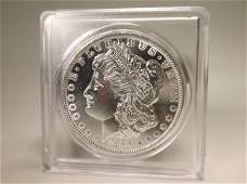 1890 US Silver Morgan Dollar