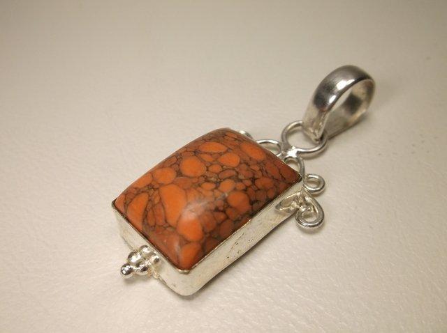 Nice Sterling Silver Mahogany Obsidian Pendant