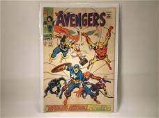 1968 Marvel The Avengers Comic Book 58 200
