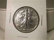 1940 US Silver Walking Liberty Half Dollar