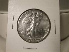 1934 US Silver Walking Liberty Half Dollar