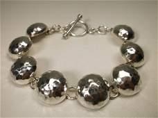 Gorgeous Super Heavy Sterling Silver Bracelet