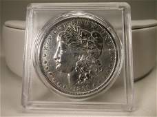 1891 O US Silver Morgan Dollar