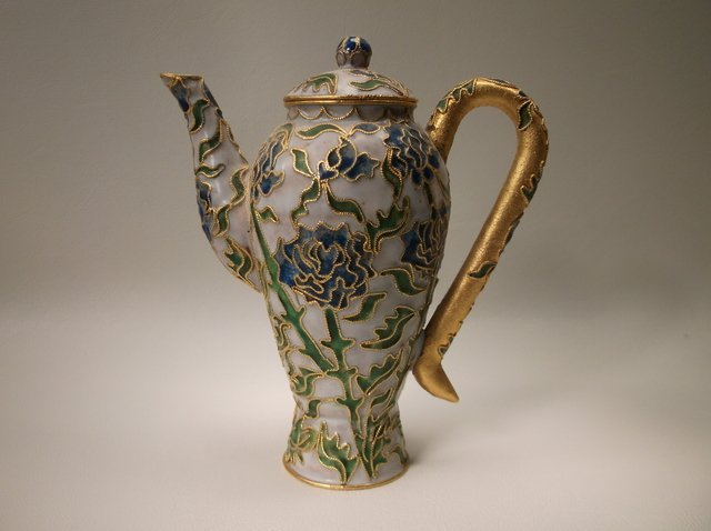 Beautiful Cloisonné Teapot