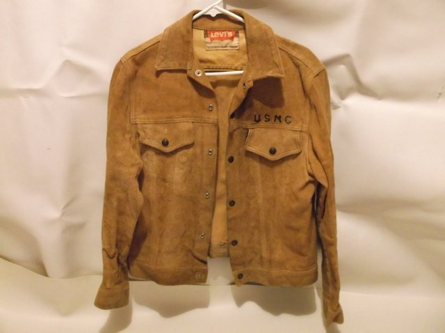 Rare 1950s Levis LSC Leather Jacket Big E Motorcycle