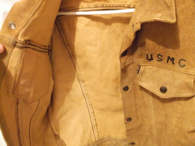Rare 1950s Levis LSC Leather Jacket Big E Motorcycle - 5
