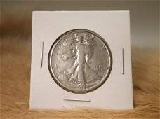 1944 S US Silver Walking Liberty Half Dollar