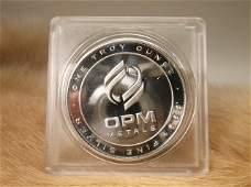 1 Troy oz 999 Fine Silver Coin