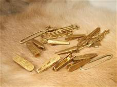 Collection of Antique Gold Filled Pins