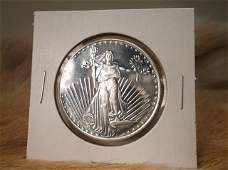 Uncirc 1 Troy Oz 999 Fine Silver Coin