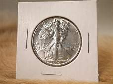 1944 US Silver Walking Liberty Half Dollar