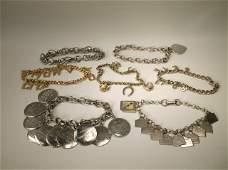 Vintage Antique Charm Bracelet Command More