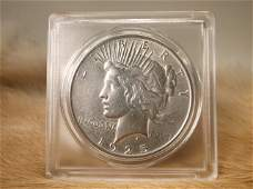 1925 US Silver Peace Dollar