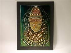 Gorgeous Israel Hadar Aviv Copper Artwork