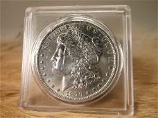 1879 US Silver Morgan Dollar