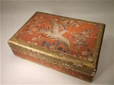 Gorgeous Antique Florentia Italian Wood Box