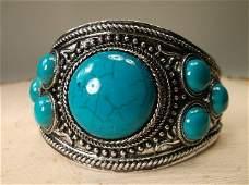 Gorgeous Huge Southwestern Bracelet