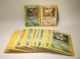 100 Vintage Old School Pokémon Cards + Holos