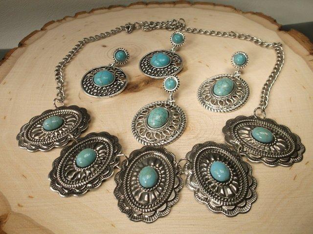 Gorgeous Southwestern Earrings Necklace Lot