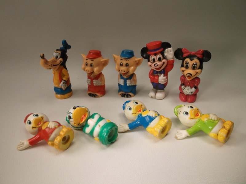 Vintage Disney Characters Toy Lot