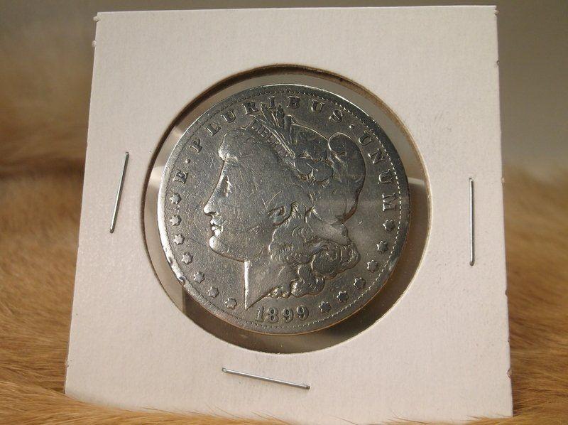 1899 S US Silver Morgan Dollar