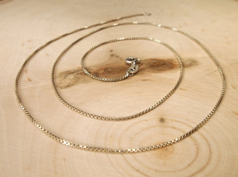 Beautiful Sterling Silver Chain Necklace 20""