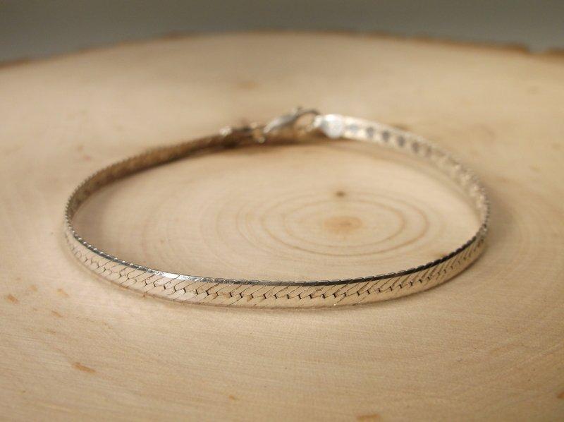 Beautiful Sterling Silver Chain Bracelet
