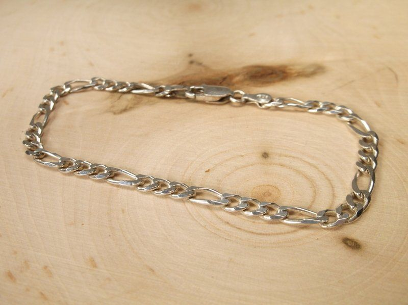 Beautiful Sterling Silver Chain Bracelet